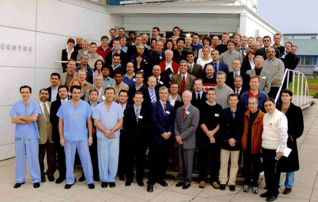 Adbvanced Shoulder Arthroscopy and live surgery course, Liverpool, 2003